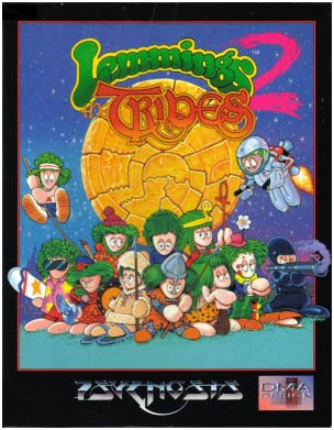 Capa do Lemmings 2 - The Tribes