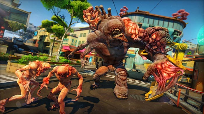Inimigos de Sunset Overdrive